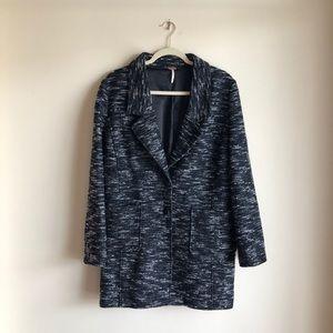 ✨ Free People Wool Blend Tweed Coat ✨